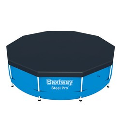 Pvc Cover For Steel Pro Pools 305 Cm Bestway 58036